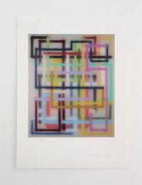 Aime * by Bernard Frize contemporary artwork print