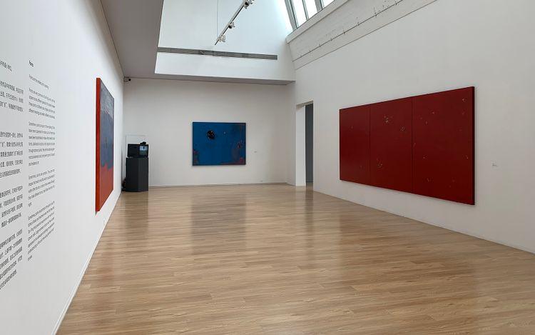 Exhibition view:Tan Ping: What Is Painting 1984–2021, Tang Contemporary Art, Bangkok (15 May–30 June 2021). Courtesy Tang Contemporary Art.