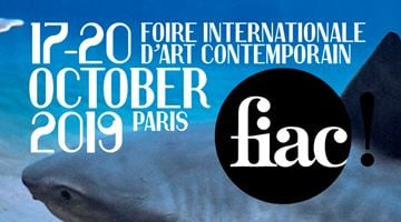 Contemporary art exhibition, FIAC Paris 2019 at Galerie Krinzinger, Vienna