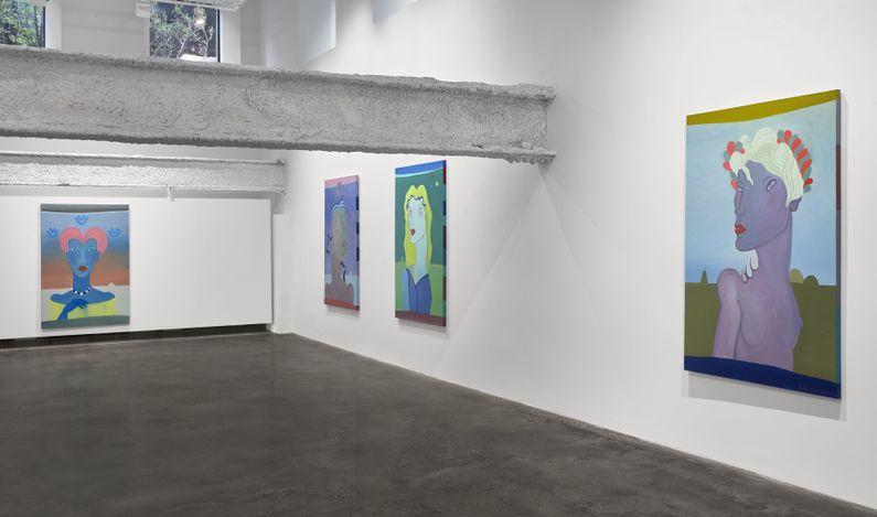 Exhibition view: Barbara Nessim, Stargirl, Malin Gallery, New York (30 April–15 June 2021). Courtesy Malin Gallery.