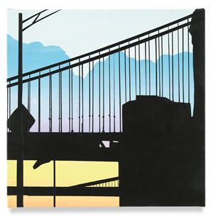 Two Bridges(s) by Brian Alfred contemporary artwork