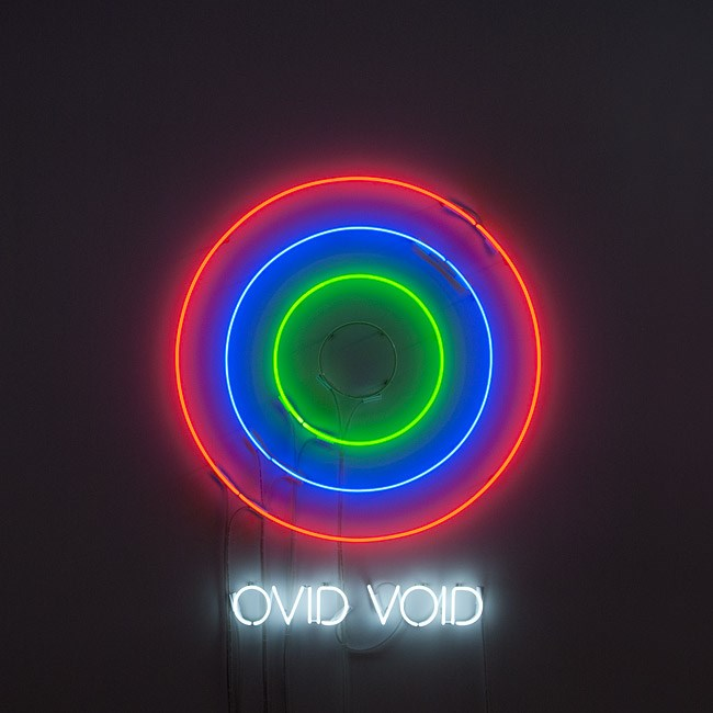 Circle/s in the Round: OVID/VOID by Newell Harry contemporary artwork
