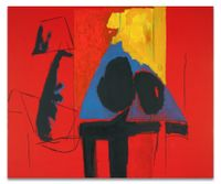 The Studio by Robert Motherwell contemporary artwork mixed media