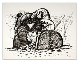 Gulf by Philip Guston contemporary artwork