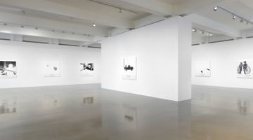 Contemporary art exhibition, John Baldessari, The Space Between at Sprüth Magers, Los Angeles, USA