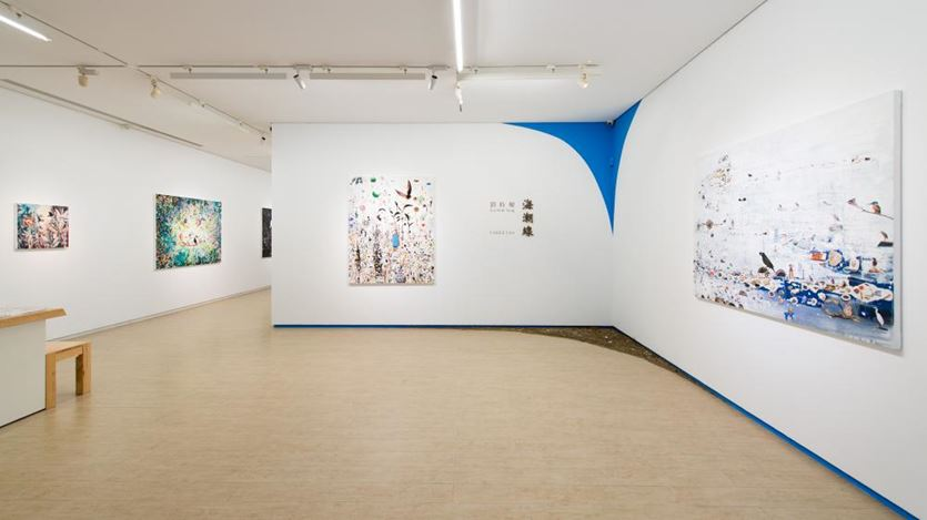 Exhibition view: Liu Shih-Tung, Cotidal Line,Lin & Lin Gallery, Taipei.(5 December 2020–31 January 2021). Courtesy Lin & Lin Gallery.