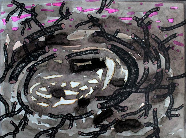 Untitled X by Pakkiyarajah Pushpakanthan contemporary artwork