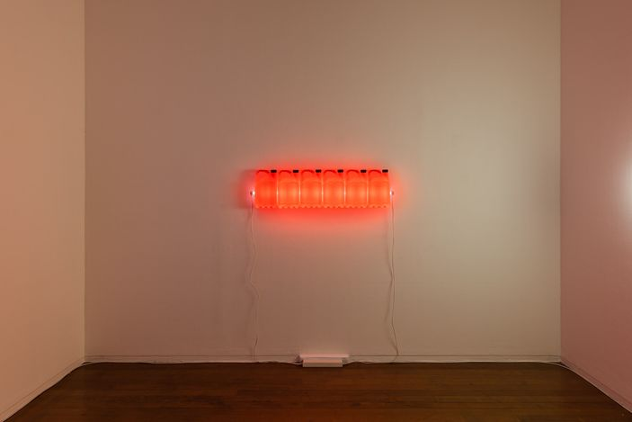 installation view, Bill Culbert, Roslyn Oxley9 Gallery, Sydney (17 June – 17 July 2021). photo: Luis Power