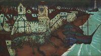 Bassein Creek by A. A. Raiba contemporary artwork painting