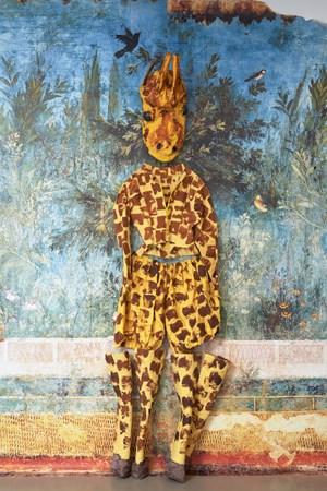 Giraffe by Monster Chetwynd contemporary artwork