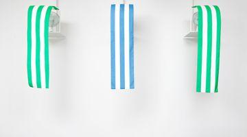 Contemporary art exhibition, Daniel Buren, Balthasar Burkhard, Jason Martin, Reise ans Mittelmeer / Journey to the Mediterranean Sea at Buchmann Galerie, Buchmann Galerie, Berlin