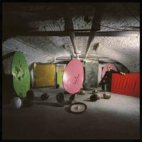 Lucio Fontana's Studio by Ugo Mulas contemporary artwork photography
