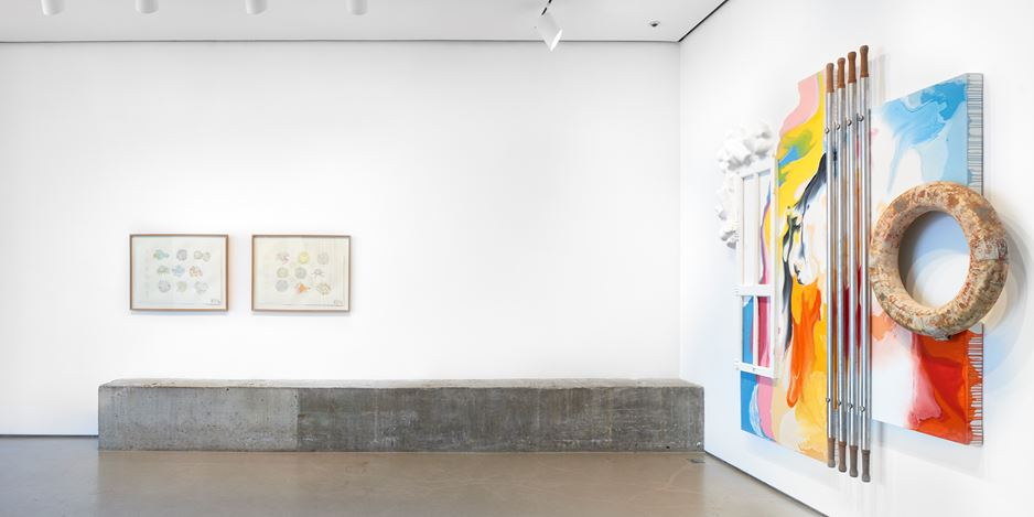 Exhibition view: Lucy + Jorge Orta, Potential Architecture, Jane Lombard Gallery, New York (4 April–11 May 2019). Courtesy Jane Lombard Gallery.
