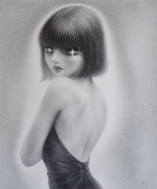 내 뒷모습만 봐도 알잖아 by Myung Seon Ku contemporary artwork