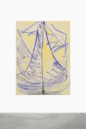 Sailingboat by Tamuna Sirbiladze contemporary artwork