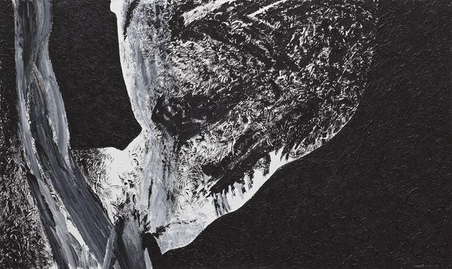 La colonne céleste ondule by Ma Desheng contemporary artwork