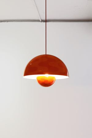 Big-Flower-Pot Pendant by Verner Panton contemporary artwork