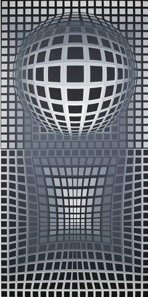 VP Surke by Victor Vasarely contemporary artwork