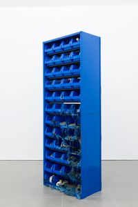 PARTS CABINET by Matias Faldbakken contemporary artwork mixed media