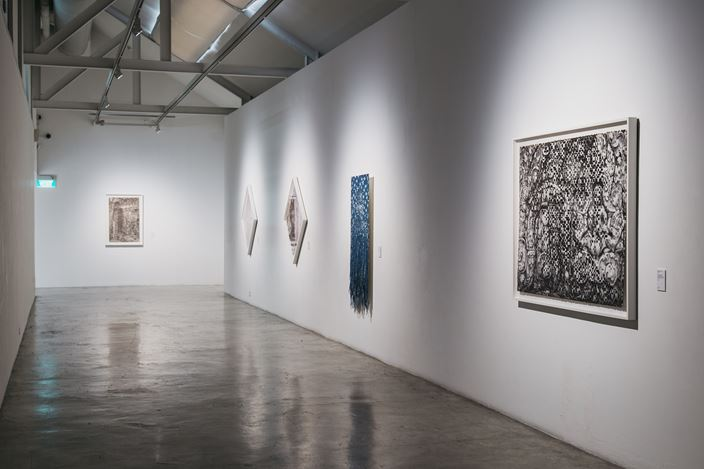 Exhibition view: Dinh Q. Lê, Monuments & Memorials,STPI, Singapore (17 March-12 May 2018). Courtesy the artist and STPI.
