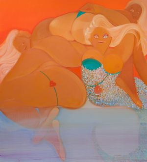 Helena Muraena by Sofia Mitsola contemporary artwork