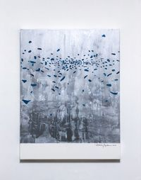 Flow by Katsumi Hayakawa contemporary artwork painting, works on paper