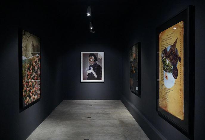 Exhibition view: Muvindu Binoy, Last Page of the Textbook, Saskia Fernando Gallery, Colombo(17 December 2020–14 January 2021). Courtesy Saskia Fernando Gallery.