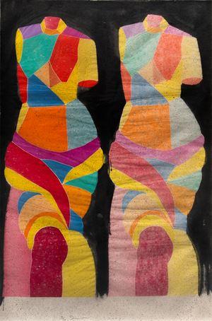 Two Kozo Venuses by Jim Dine contemporary artwork