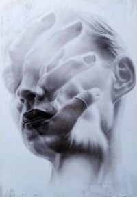 Fragile Mirror by Igor Dobrowolski contemporary artwork painting