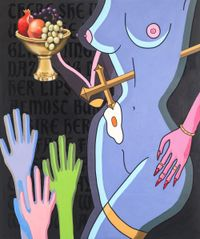 The Fruits of Hell's Labour by Graceland contemporary artwork painting