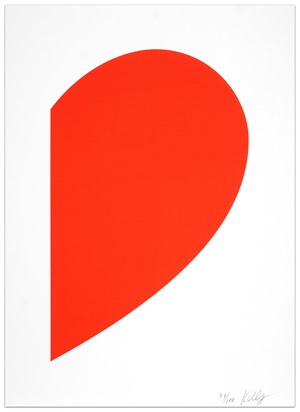 Small Red Curve by Ellsworth Kelly contemporary artwork