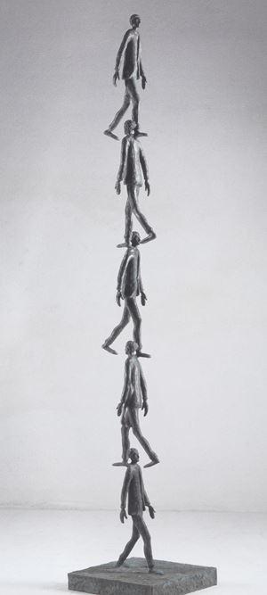 Colonna bisbetica by Roberto Barni contemporary artwork