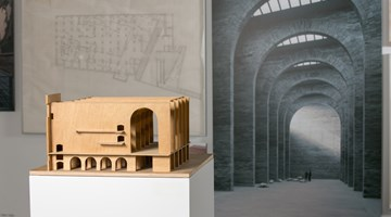 Contemporary art exhibition, Rafael Moneo, A Theoretical Reflection from the Professional Practice. Archive Materials (1961-2013) 建•哲 at HKDI Gallery, Hong Kong