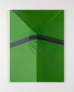 Green by Marcel Vidal contemporary artwork painting