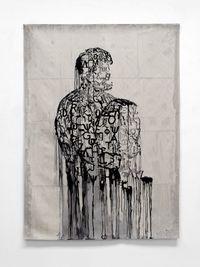 L'écrivain prisonnier by Jaume Plensa contemporary artwork textile