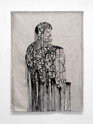 L'écrivain prisonnier by Jaume Plensa contemporary artwork
