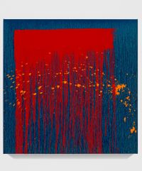 Untitled XXVIII by Pat Steir contemporary artwork painting