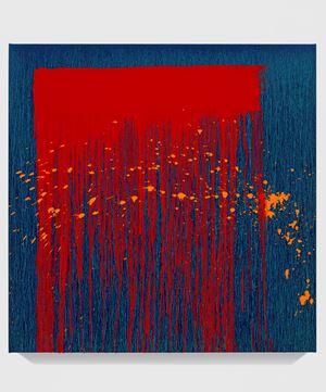 Untitled XXVIII by Pat Steir contemporary artwork