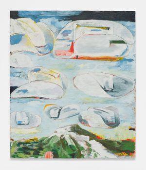 Sombrero and Mountain by Ken Taylor contemporary artwork