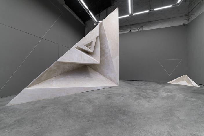 Exhibition view: Liu Yue,Volume 体积, ShanghART, Shanghai (6 September–20 October 2019). Courtesy the artist and ShanghART. Photo:Alessandro Wang.