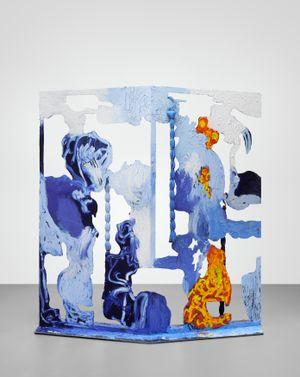 AMYLOPLAST by Donna Huanca contemporary artwork