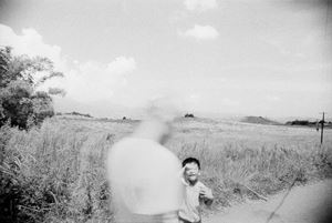 Child and silhouette, Guanyinshan by Tsun-shing Cheng contemporary artwork
