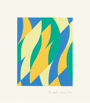 Fold by Bridget Riley contemporary artwork