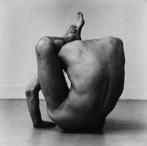 Gary Schneider in Contortion (II) by Peter Hujar contemporary artwork
