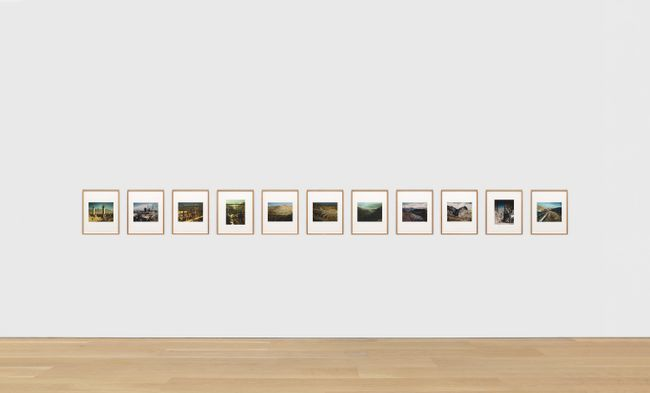 After Feininger: 1–11 by Sherrie Levine contemporary artwork