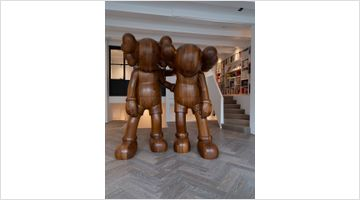 Contemporary art exhibition, KAWS, Along the Way at Reflex Amsterdam, The Residence, Netherlands