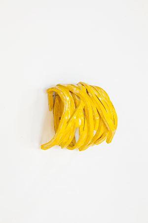 Gelbe Wicklung by Claudia Terstappen contemporary artwork