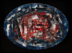Nouvelles impressions n°15 by Jean-Paul Riopelle contemporary artwork