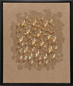 Waterdrops by Kim Tschang-Yeul contemporary artwork painting