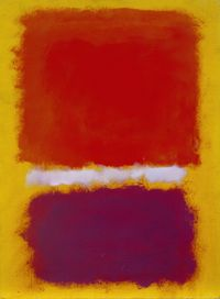 Untitled by Mark Rothko contemporary artwork painting